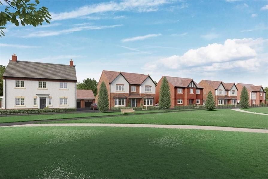 Knights chase in ashby de la zouch houses by miller homes for Ashby homes