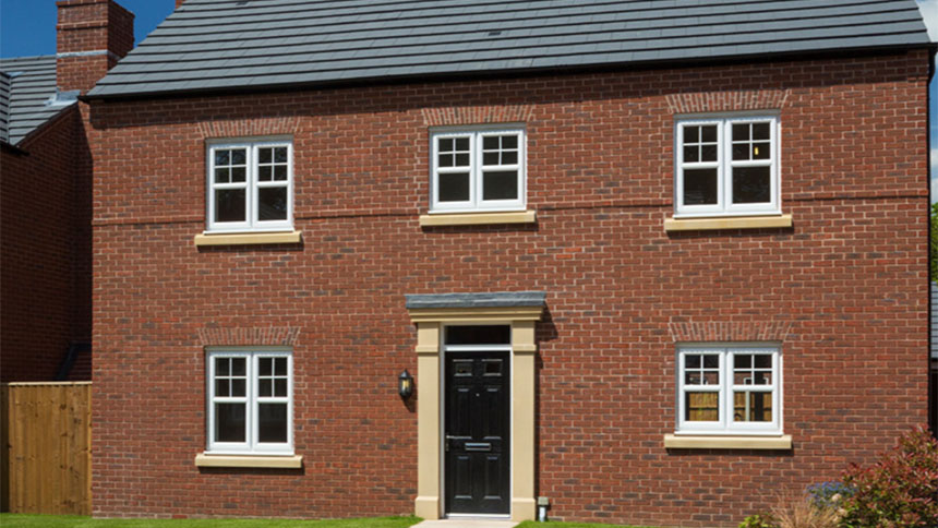 4 bedroom house plot 103 the moreton 2 in bartle meadows for Morris home