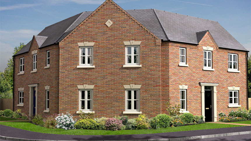 Plot 016 the dalton house for 217 750 with 3 bedrooms for Morris home