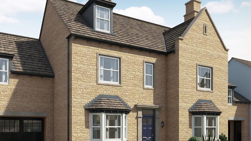Town house plot 042 the melford for 599 500 in cecil for Morris home