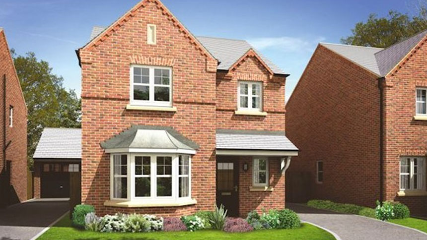 3 bedroom house plot 137 the dunham 2 in forest grange for Morris home