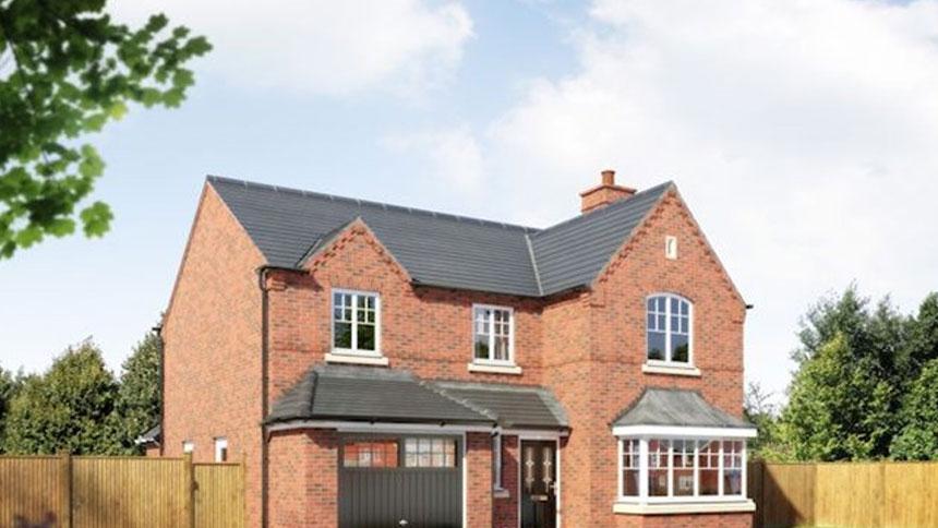 4 bedroom in oakwood view detached house plot 085 for Morris home