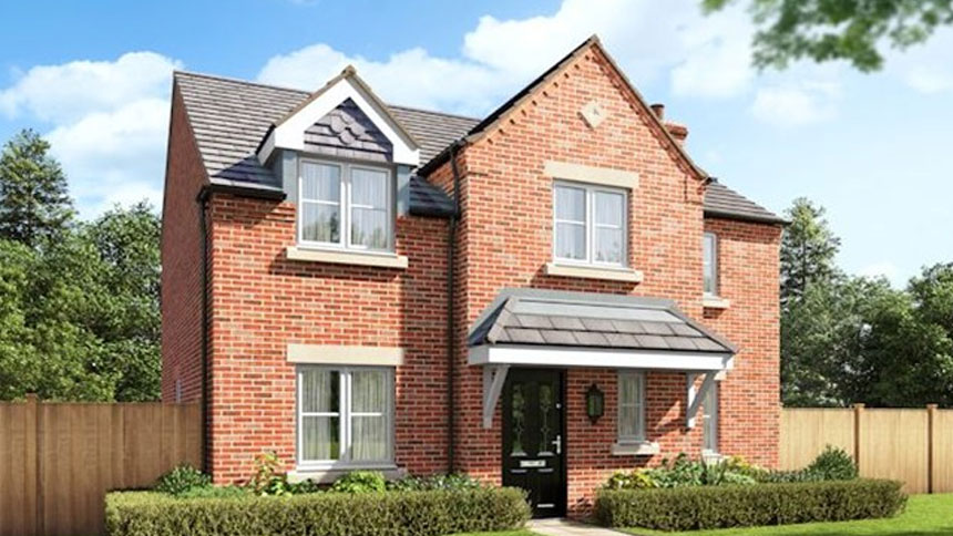 House plot 108 the staunton priced at 414 750 with 4 for Morris home