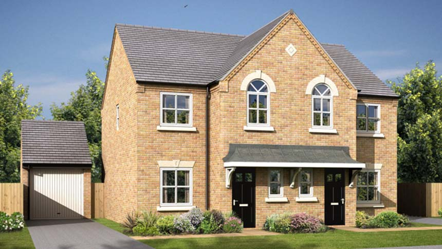 3 bedroom detached house plot 017 the didsbury is for for Morris home