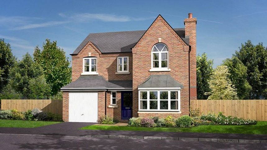 The spires by morris homes 3 bedroom houses for Coventry home builders