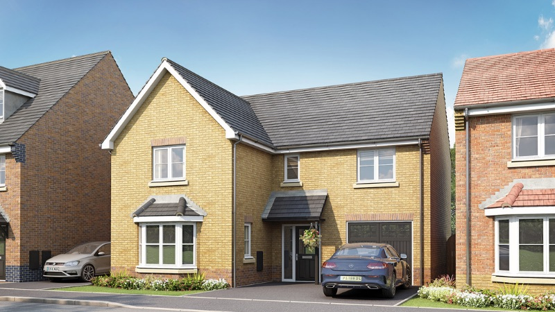 Taylor Wimpey's 'Dunham' house type