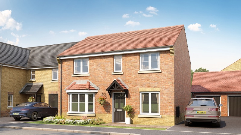Taylor Wimpey's 'Manford' house type