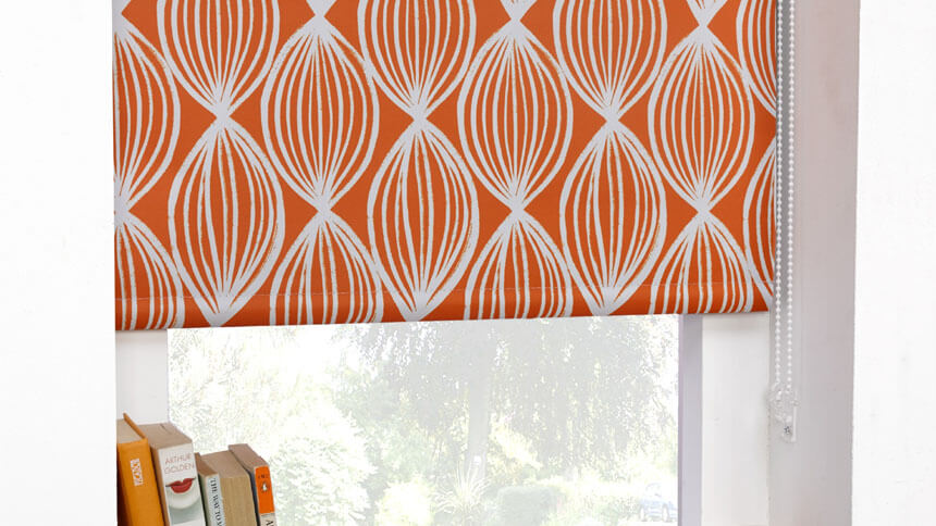 Scuba ready-made blackout roller blind