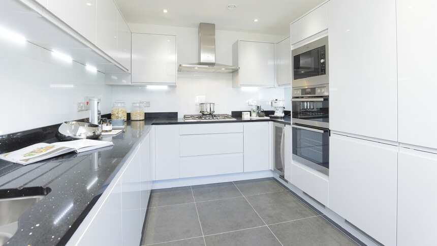 Show home room by room the buttermere greenhithe for Show kitchen designs