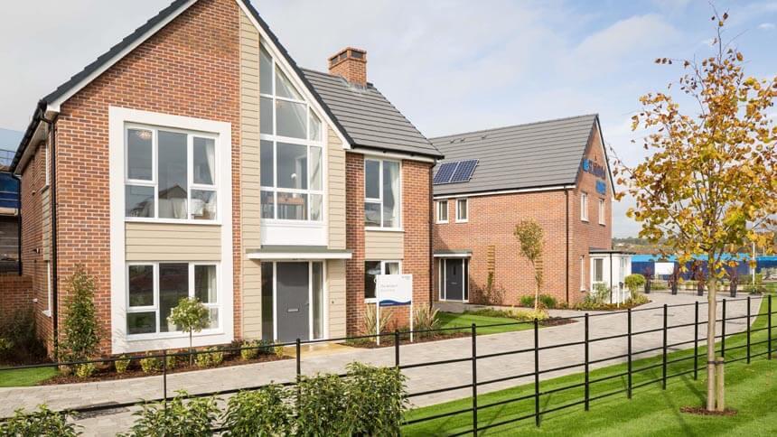 Glan Llyn development (St. Modwen Homes)
