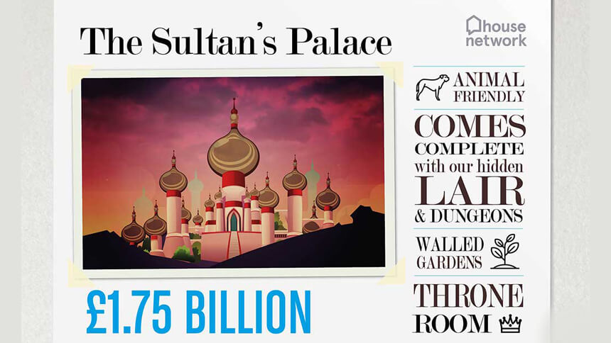 The Sultan's Palace from Aladdin