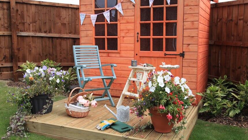 The Brampton garden room