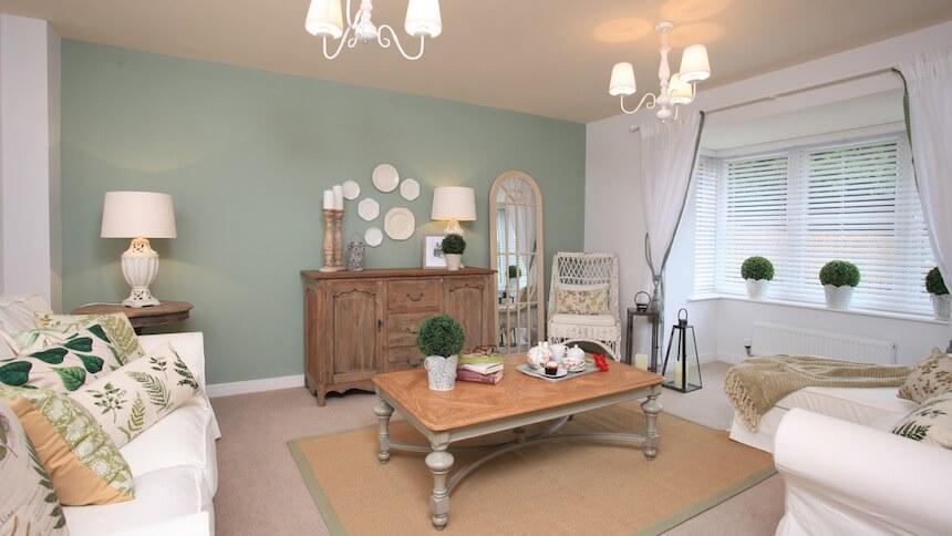 The Brampton living room
