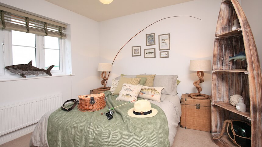 The Brampton fishing themed bedroom