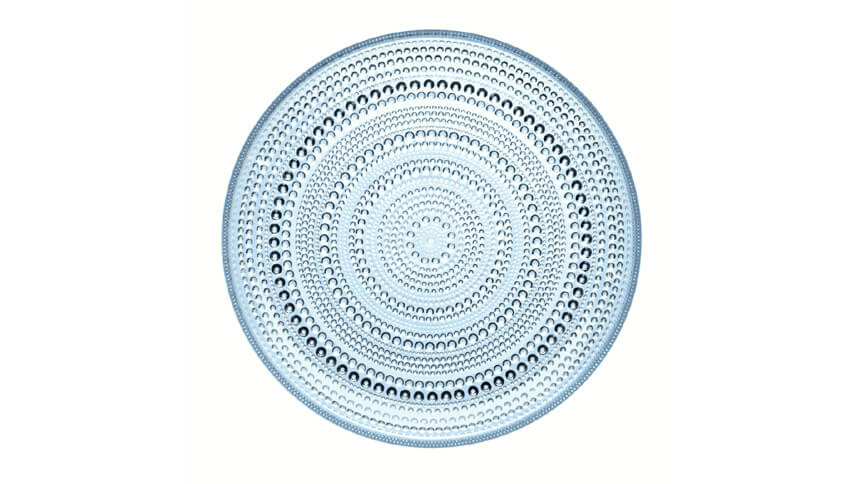 littala Kastehelmi plate from Cloudberry Living