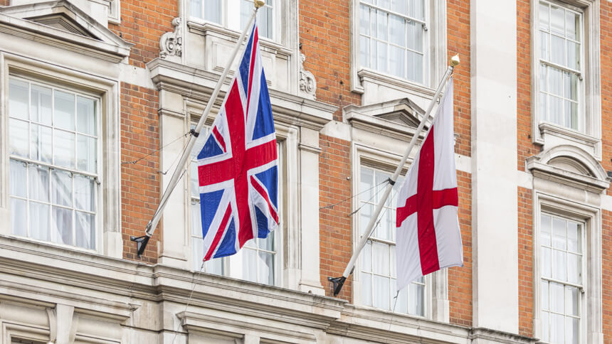 Patriotic flags are a property turn-off