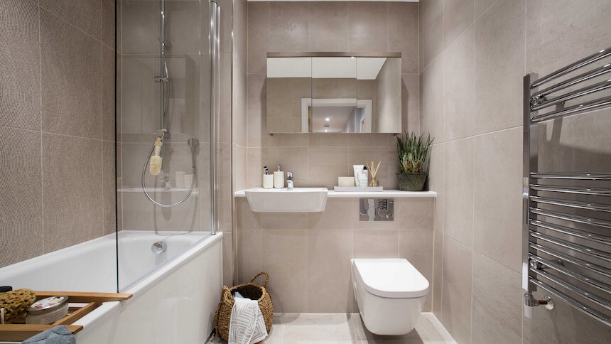 Latest designs bathrooms auckland home show bathroom for Show home bathrooms