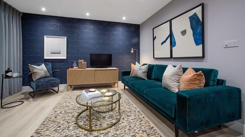 Living room at Prime Place, Sevenoaks