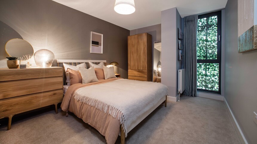 Second bedroom at Prime Place, Sevenoaks
