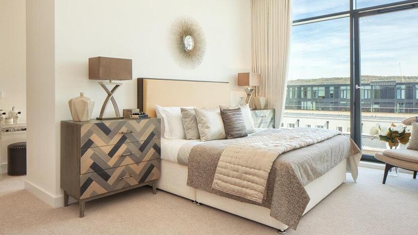 Bath Riverside master bedroom