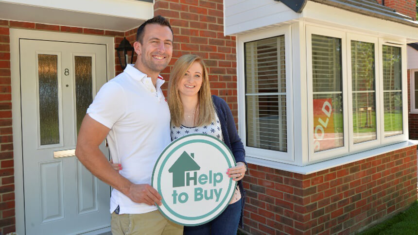Jeff and Fiona Chapman used Help to Buy
