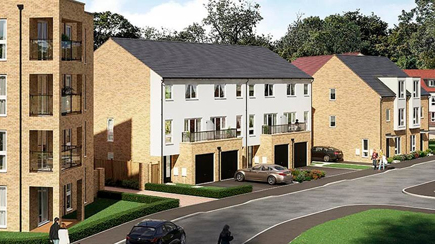 Bleriot Gate (Redrow Homes)