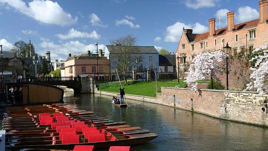 The River Cam in Cambridge