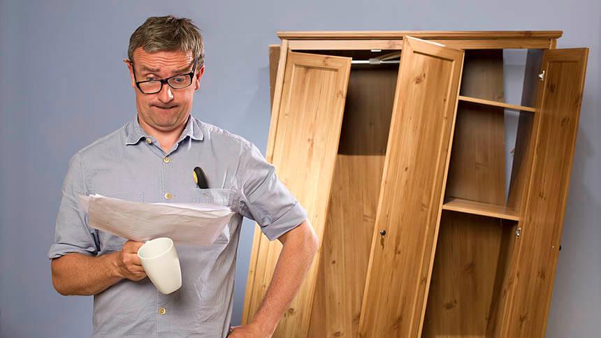 22% wouldn't build flatpack furniture