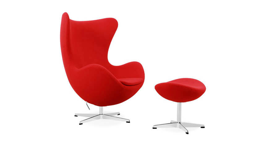 Iconic Egg Chair, Italia Designs