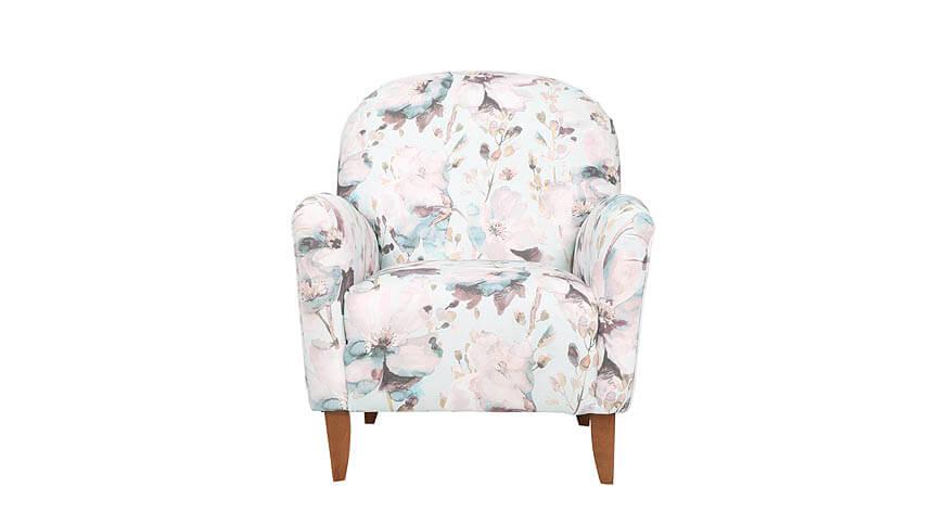 Floral print Lausanne armchair, Tesco.com
