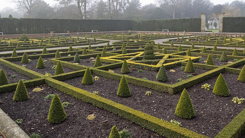 An English parterre