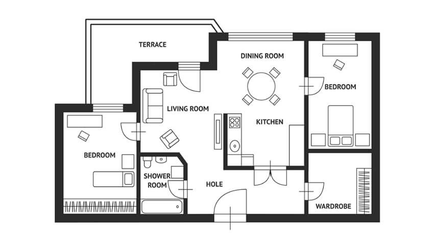 Look at detailed floorplans, 53%