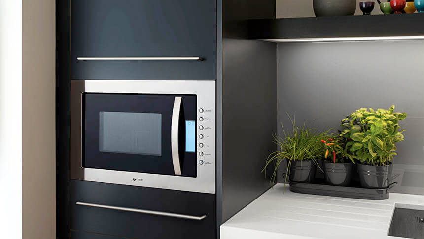 Built-in microwave and grill, Caple