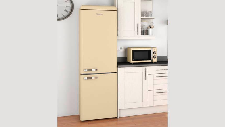 Retro microwave, Swan
