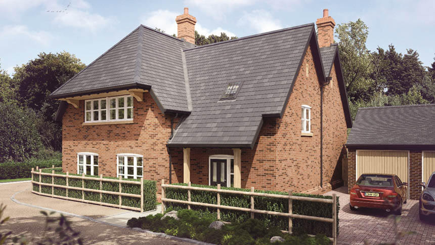 Show home at Froyle Park (Linden Homes)