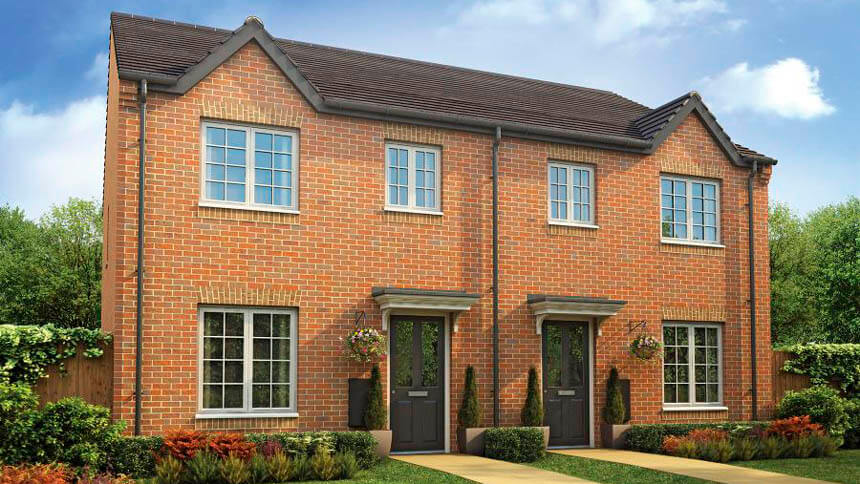 The 'Gosford' at Kensington Park (Taylor Wimpey)