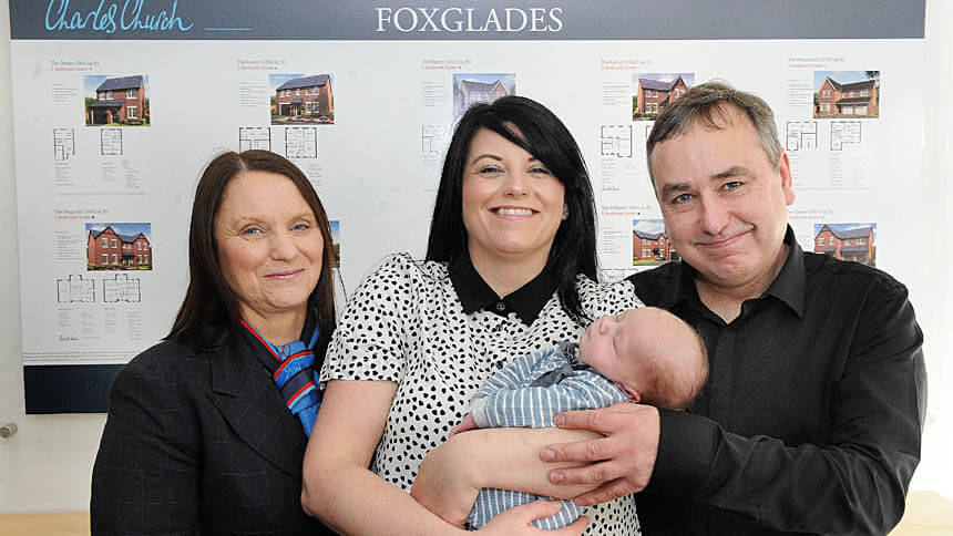 Jane McLean, Nicola Boyle, Jason Hoole and Cody