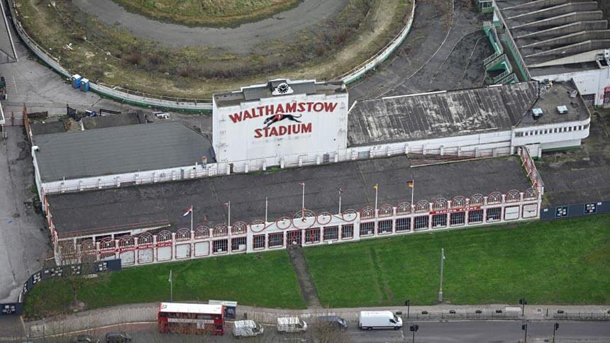 Walthamstow Stadium before restoration
