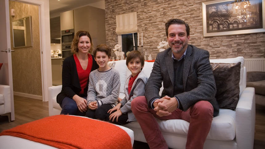 Rafael and Mirjana Dozo and family