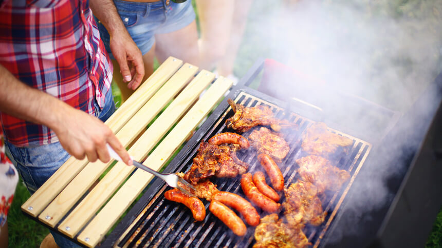 Smoke from a BBQ can be a nuisance