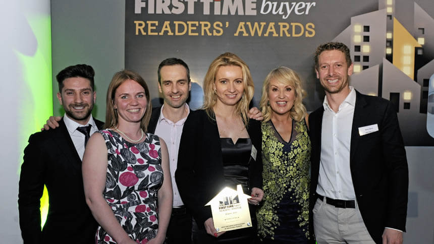 Inspired Homes win a First Time Buyer award