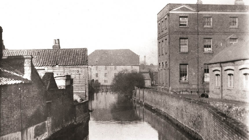 Heritage photo from The Ram Quarter