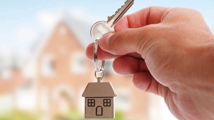 The key to your new home