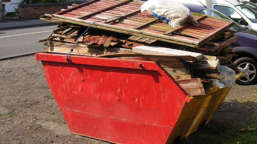 DIY enthusiasts are dominating the skip market