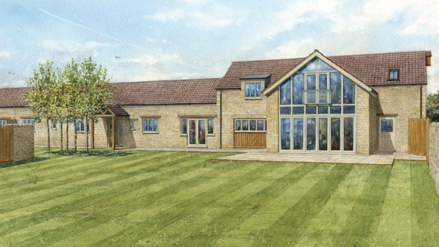 Broadholme Farmyard (Hereward Homes)