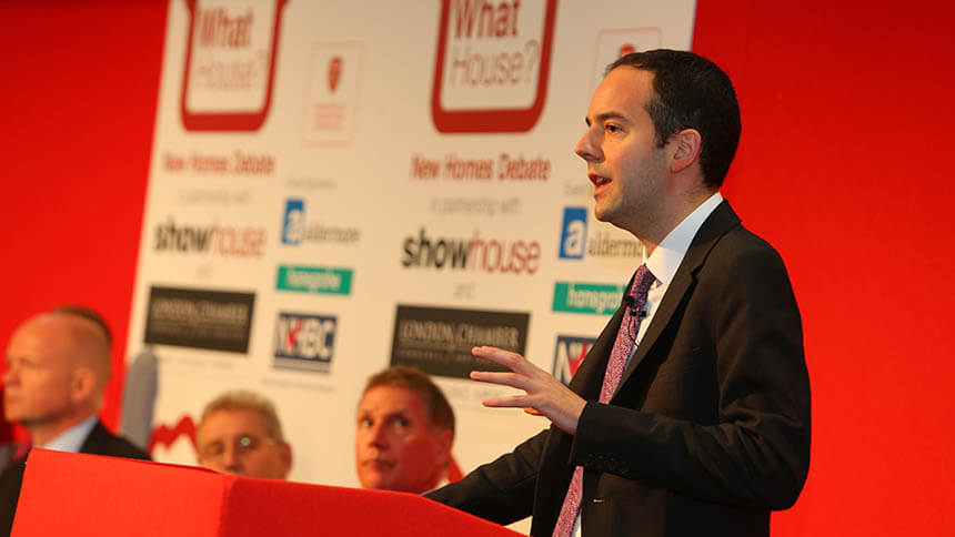 James Murray, deputy mayor for housing
