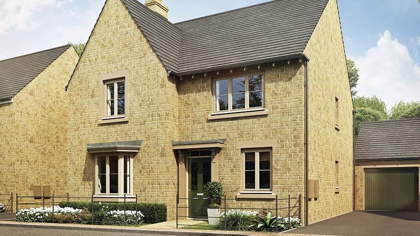 A New Development Opens To House Hunters In Cirencester