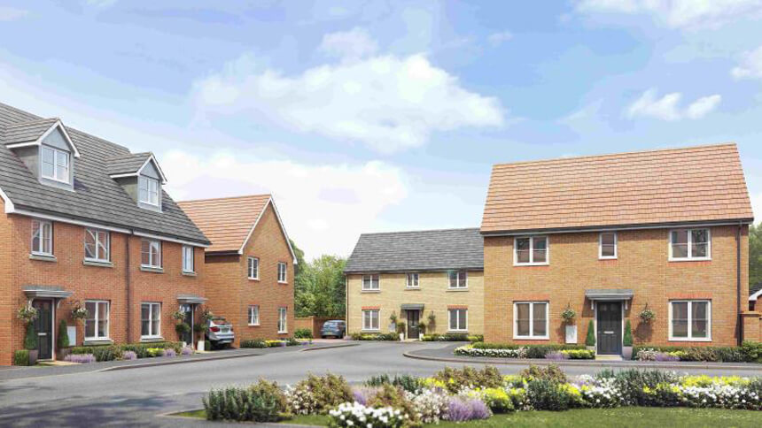 Walmley Croft in Sutton Coldfield (Taylor Wimpey)