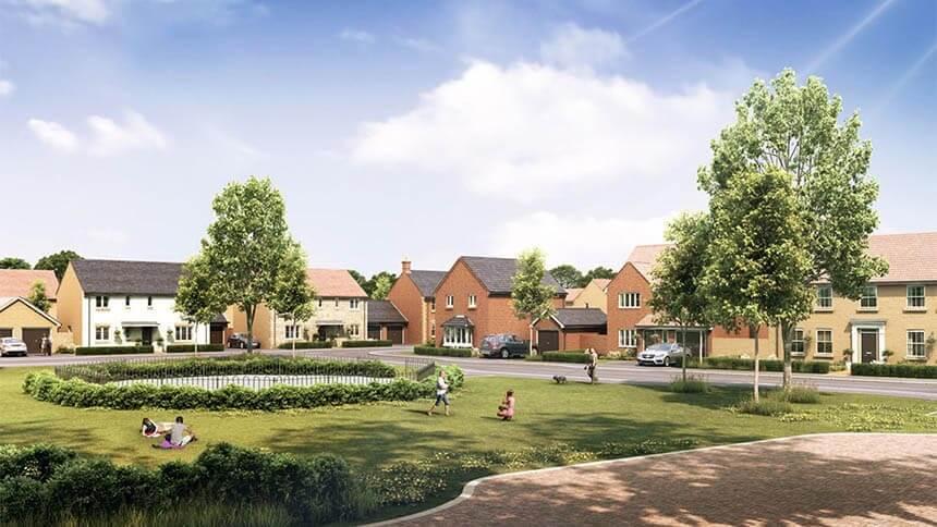 A Larkfleet Homes new development