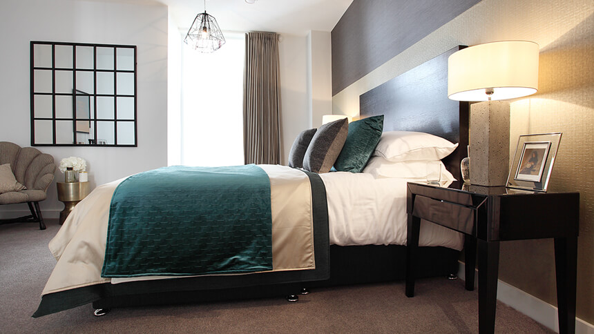 Charters Wharf bedroom